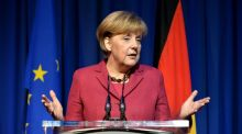 Chancellor Angela Merkel does not approve of binding quotas for women Photo: David Sleator/The Irish Times