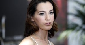 'Dramatically taut and Pinteresque in intent, Hostages has no Scandi-grey skies, no crumpled men staring into lakes and no beautiful lamps. But it is in Hebrew so has subtitles. Triple Chardonnays all round. L'Chaim!Israeli actress Ayelet Zurer stars in the TV show Hostages.'  Photograph:  VALERY HACHE/AFP/Getty Images