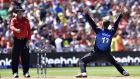 Daniel Vettori took 4-18 in New Zealand's comfotrable World Cup Pool A win over Afghanistan, passing 300 one-day wickets in the process. Photograph: AFP