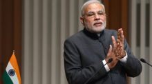 Narendra Modi, India's prime minister: some  analysts feel that he  has so far failed to bite the bullet on meaningful reforms. Photograph: Tomohiro Ohsumi/Bloomberg