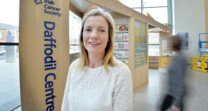 Fionnuala Keane: a cancer information service nurse at the Daffodil Centre in the Mater hospital. Photograph: Alan Betson
