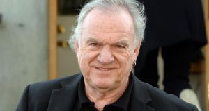 Ralph McTell attended the funeral. Photograph: Cyril Byrne