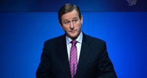 Taoiseach Enda Kenny has said he would like to see the banks doing more for people in mortgage difficulty. Photograph: Dara Mac Donaill / The Irish Times