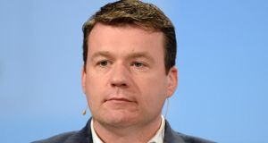 Alan Kelly, Minister fo the Environment: the public was positively disposed to passing the referendum but nothing could be taken for granted.  Archive photograph: Cyril Byrne/The Irish Times
