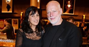 "Stuck in the middle: ""David and Roger were like a bickering old divorced couple,"" Polly Samson says of her husband, David Gilmour, and his former Pink Floyd bandmate Roger Waters. Photograph: David M Benett/Getty"