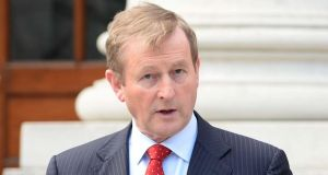 Taoiseach Enda Kenny said he wanted to see a  situation where laws and Constitutional amendments were co-drafted rather than subsequently translated into Irish, albeit with consultation. Photograph: Eric Luke / The Irish Times