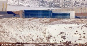 A National Security Agency (NSA) data gathering facility in Salt Lake City, Utah. Wikimedia and other rights groups have filed a lawsuit against the agency challenging one of its mass surveillance programmes. Photograph: Jim Urquhart/Reuters