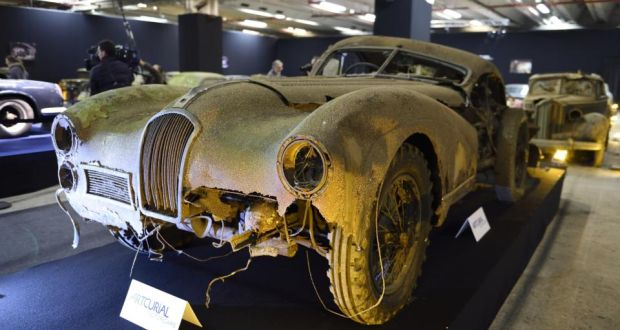 This Talbot Lago T26 Grand Sport SWB Saoutchik Was Among The Cars Found At Gaillard