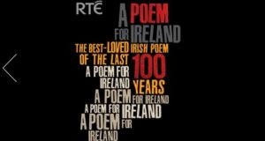 The poem, When All The Others Were Away at Mass, which recalls a morning shared between the young author and his mother, peeling potatoes, topped the RTÉ Poem for Ireland poll to identify the best loved Irish poem of the past century.