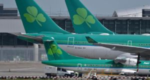 IAG and the government are trying to hammer out a compromise over the fate of Aer Lingus's valuable take-off and landing slots at Heathrow airport — the biggest barrier to IAG's planned takeover of the Irish carrier. (Photograph: Artur Widak/PA Wire)