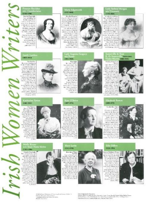 Irish Women writers poster (1999)