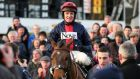 Barry Geraghty on board Bobs Worth. The 2013 Gold Cup winner has been beaten just once in six Cheltenham starts overall. Photograph: Donall Farmer