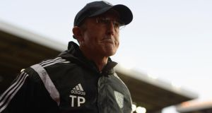 West Bromwich Albion boss Tony Pulis faces his old club Stoke City on the back of last weekend's FA Cup defeat to Aston Villa. (Photo by Gareth Copley/Getty Images)