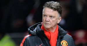 Manchester United's Dutch manager Louis van Gaal:  his side face an important home clash against Tottenham Hotspur at Old Trafford. Photograph: Oli Scarff/AFP