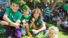 Children enjoying the St Patrick's Day Parade & Family Day in Sydney in 2013. Photograph: courtesy of St Patrick's Day Sydney.
