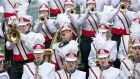 The Clondalkin Youth Band taking part in the 45th International Band Championship in  Limerick on Sunday. Photograph: Sean Curtin/Fusionshooters