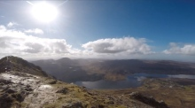 Scaling Mount Errigal, Donegal's highest point