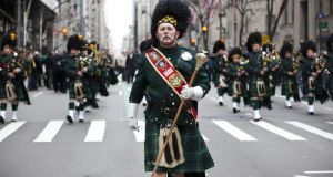 St Patrick's Day in New York. Ryanair aims to be flying to the city in four or five years time.
