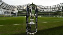 Ireland to  receive Six Nations replica trophy if triumphant