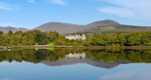The Retreats  are set  on the wooded grounds of The Park Hotel in Kenmare, Co Kerry. Each has its own wine cellar, south-facing balcony and four-seat cinema. Asking prices are between €495,000 and €535,000