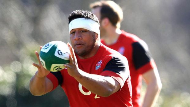 England prop Mako Vunipola expects Six Nations battle to run to the very wire. Photograph: Andrew Fosker/Inpho