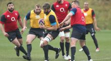 Geoff Parling the solitary change to English team for France