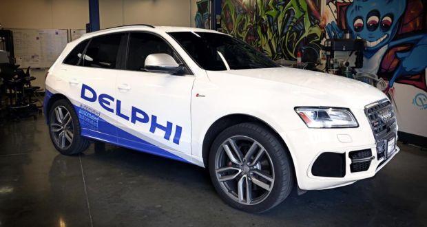 Delphi plans trans-US robot car drive