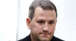 File photograph of Graham Dwyer. Prosecution SC in Mr Dwyer's trial, Seán Guerin, said during his closing statement that he would show that Mr Dwyer intended to murder Elaine O'Hara. File photograph: Cyril Byrne/The Irish Times