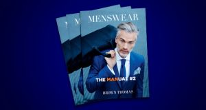 Brown Thomas MENSWEAR magazine - The Manual - Spring Issue