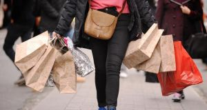 Retail Excellence Ireland said aggressive price discounting by retailers drove growth in sales volumes in January. Photograph: Dominic Lipinski/PA Wire