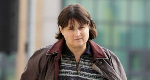 Roza Komorova: she has pleaded not guilty at Dublin Circuit Criminal Court to theft of the paintings from Louise Mansfield's home in Cabinteely in 2011. Photograph: Collins Courts
