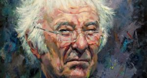 James Brohan's painting of poet Seamus Heaney is one of the highlights of the collection, and is currently on display at Barbara Stanley's gallery in Mayfair