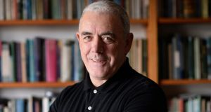 "Theo Dorgan's collection was called a ""lumunious book"" by the judges. Photograph: Dara Mac Dónaill"