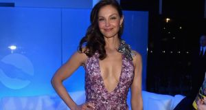 Ashley Judd: supporters of a basketball team posted tweets calling Judd a 'whore' and threatening her with sexual violence. Photograph: Larry Busacca/Getty Images