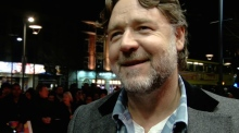 Russell Crowe in Dublin for Irish premiere of directorial debut