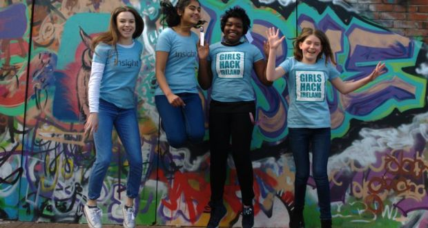 Girls Hack Ireland, women in tech
