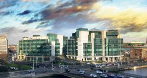 IFSC in Dublin: 5,000 new fintech jobs would represent a doubling in employment in this burgeoning part of the IFSC. Photograph: Bryan O'Brien / The Irish Times