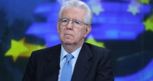 Former Italian prime minister Mario Monti warned anti-Brussels sentiment and rising populism in France threatened to blow the bloc's Franco-German axis apart. Photograph: Chris Ratcliffe/Bloomberg