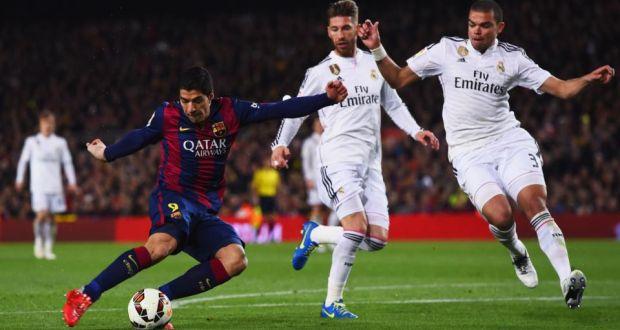 Luis Suarez strike earns Barcelona victory over Madrid