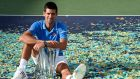 Novak Djokovic beat Roger Federer in three sets to win the BNP Paribas title at Indian Wells. Photograph: Epa