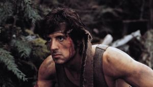 "Potent myth: ""I did what I had to do to win . . . Then I see all those maggots at the airport. Protesting me. Spitting,"" says Sylvester Stallone's character, inaccurately, in Rambo: First Blood"