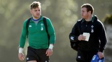 Ian Madigan and Sean Cronin are set to return for Leinster in the Pro12. Photograph: James Crombie/Inpho
