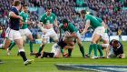 Try scorer Sean O'Brien brought badly needed ballast in the ball-carrying. Photograph: Reuters