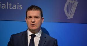 Attachment orders on wages and welfare payments are seen as likely to be included in new measures to be published by Minister for the Environment Alan Kelly. Photograph: Alan Betson