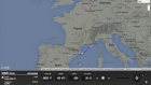 French Alps plane crash: flight tracker shows sudden descent