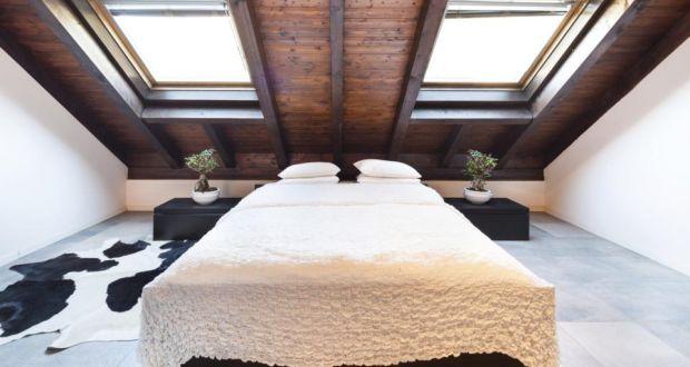 & Loft bedroom is difficult to heat in winter