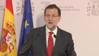 Spanish Prime Minister Mariano Rajoy has established a crisis committee to deal with the Germanwings Airbus crash, in which 150 people are feared dead. Video: Reuters