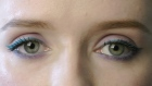 For a move away from the usual nudes and greys, Laura Kennedy demonstrates a subtly dramatic dual eye colour look: purple and aqua. No cause for alarm, this is a three-minute wonder to bighten up your day. Video: Niamh Guckian