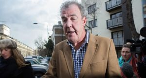 Top Gear presenter Jeremy Clarkson's contract will not be renewed, the BBC has announced.  Photograph: Daniel Leal-Olivas/PA Wire.