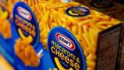 The current Kraft was created in a spinoff from Mondelez in October 2012. Mondelez inherited the company's overseas snack businesses, giving it bigger growth opportunities internationally. (Photograph: David Paul Morris/Bloomberg)